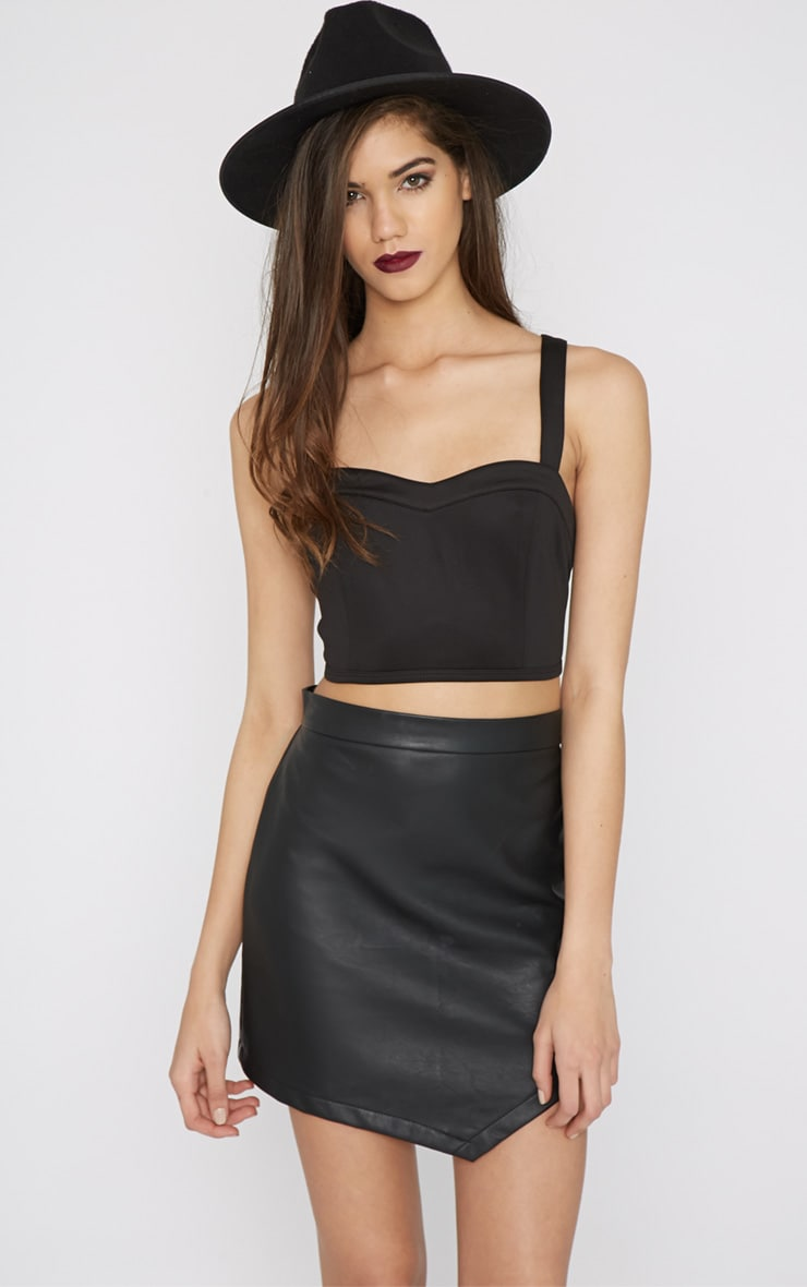 Drina Black Bralet  1