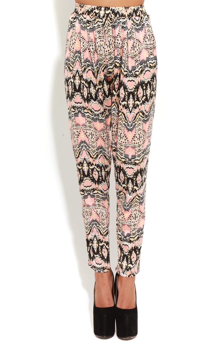 Adelyn Peach And Grey Luxe Joggers 4