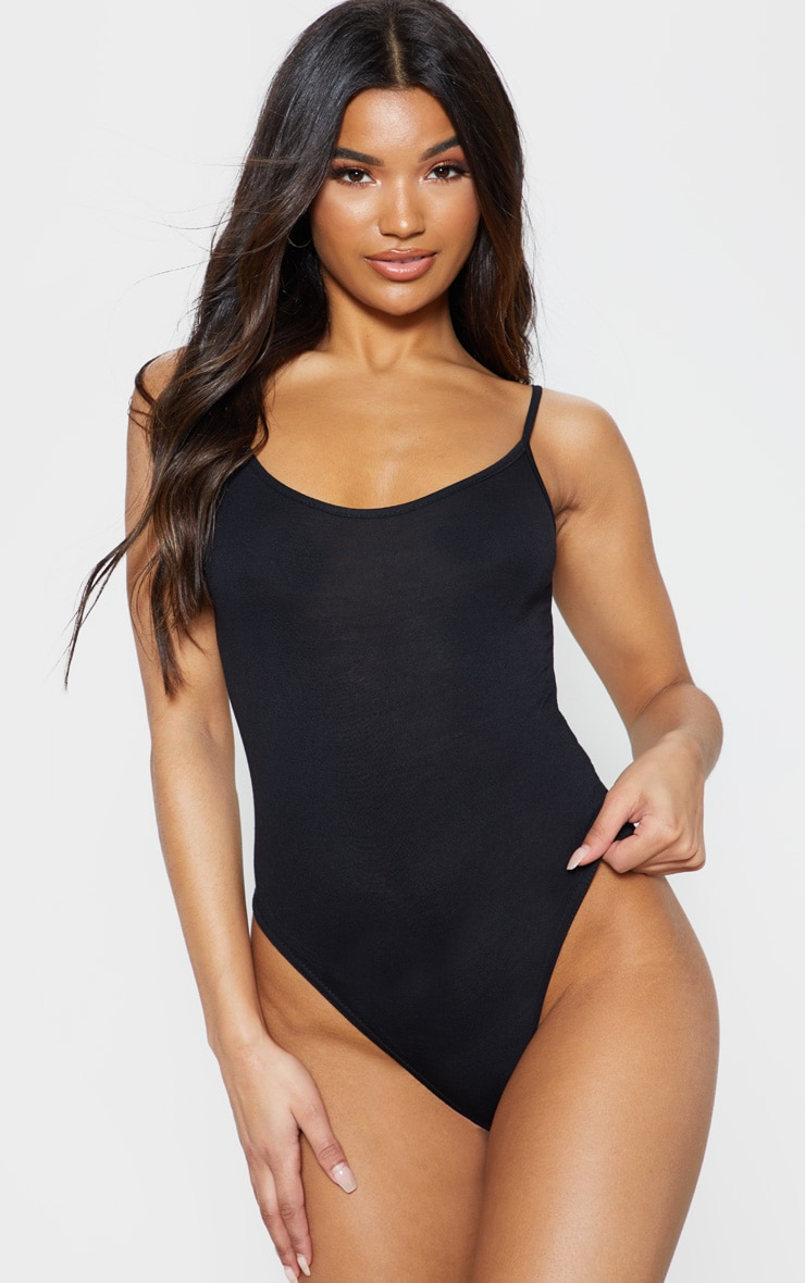 Basic Black Bodysuit 2