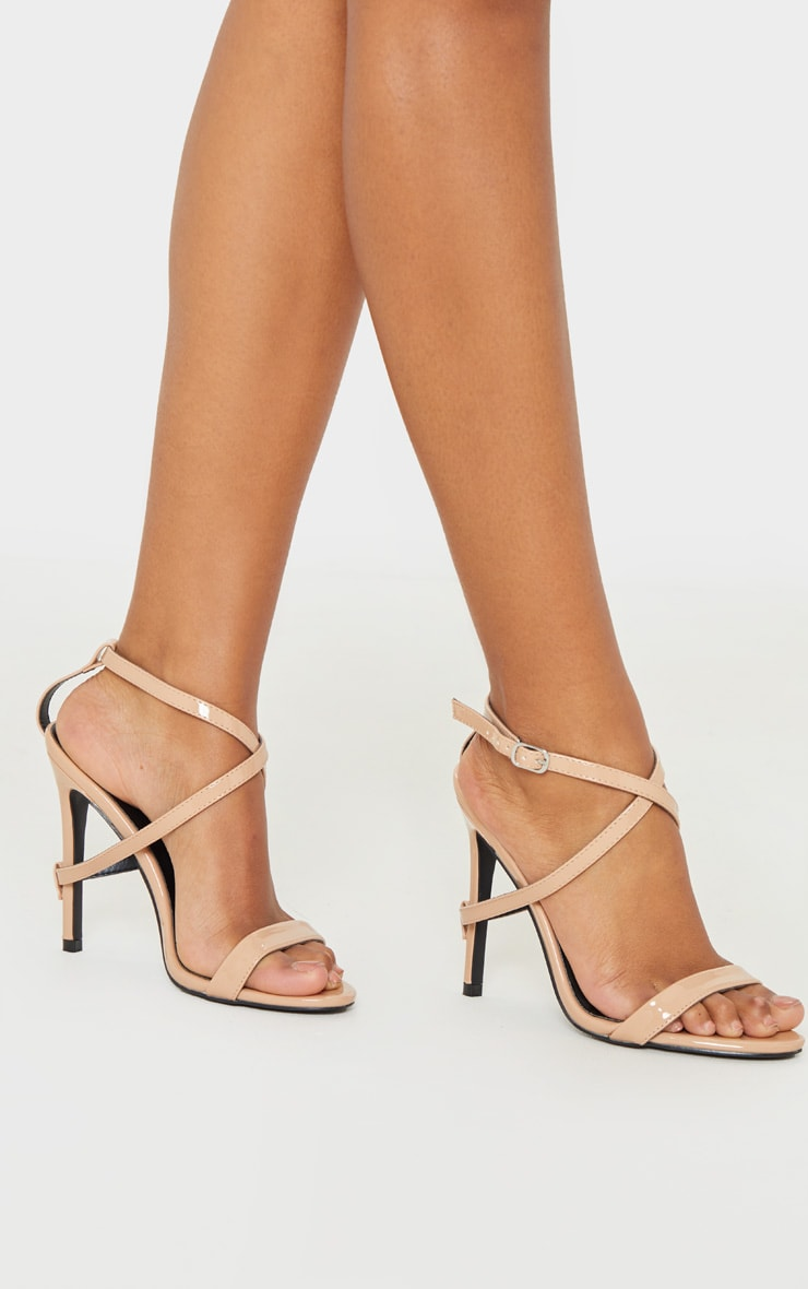 Nude Strap Heel Detailed Sandal 1