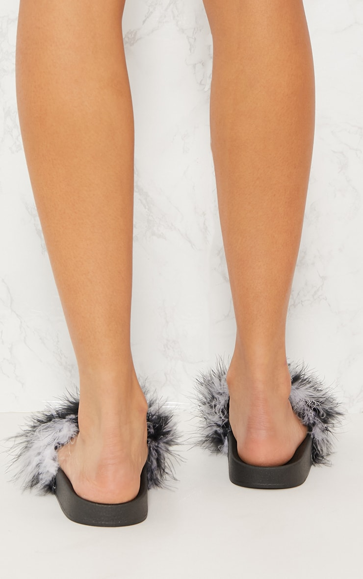 Monochrome Feather Slides 3