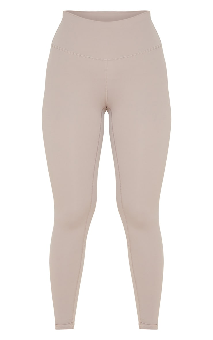 Taupe Sculpt Luxe Gym Legging 5