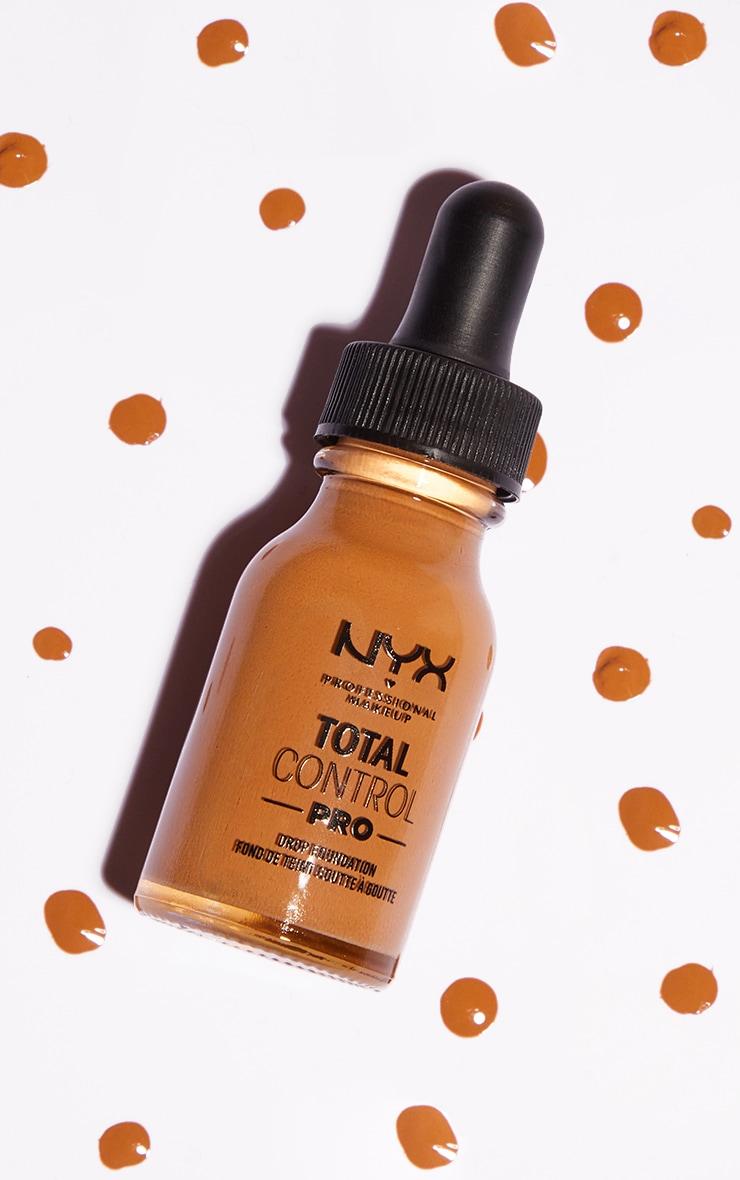 nyx pmu total control pro drop controllable coverage foundation nutmeg
