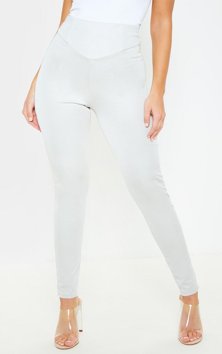 Grey Body Shaping High Waist Legging 2
