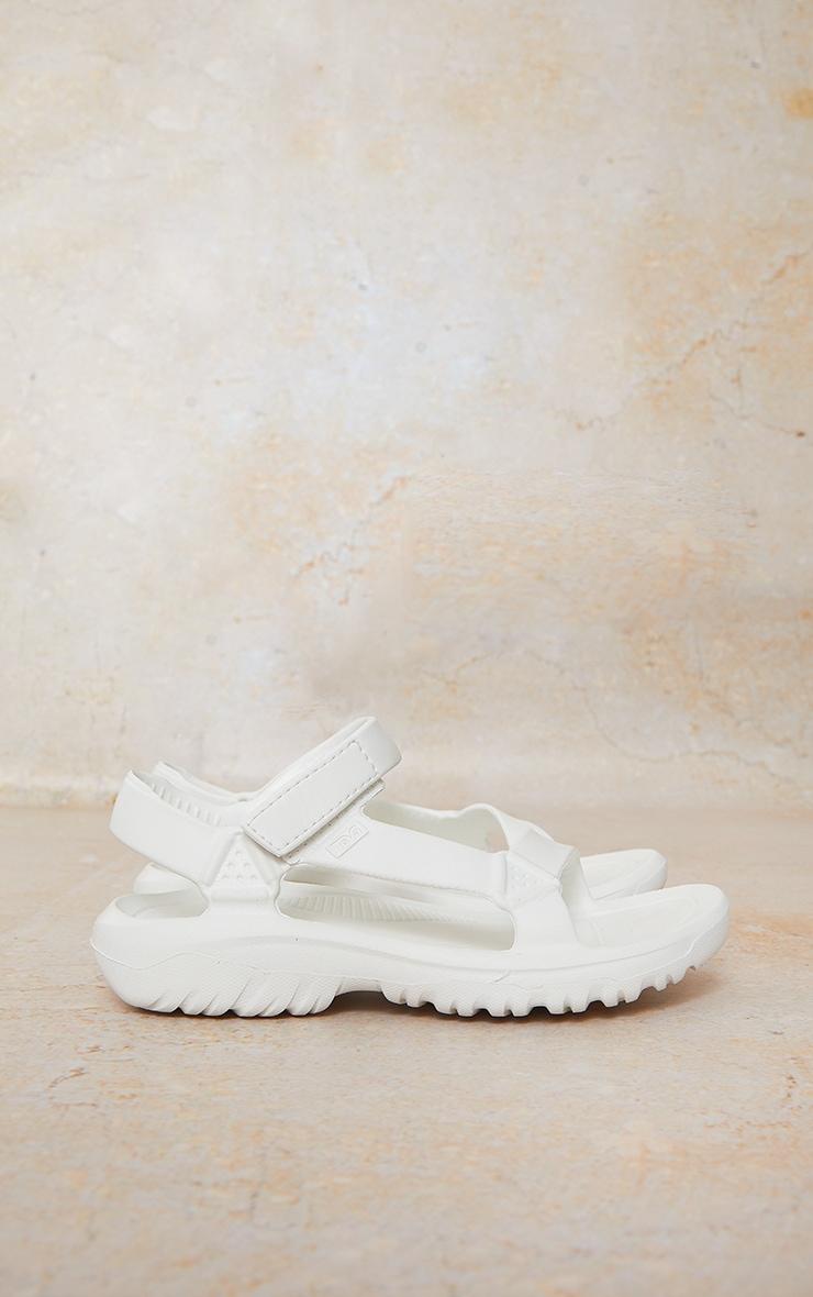 TEVA White Hurricane Drift Sandals 3