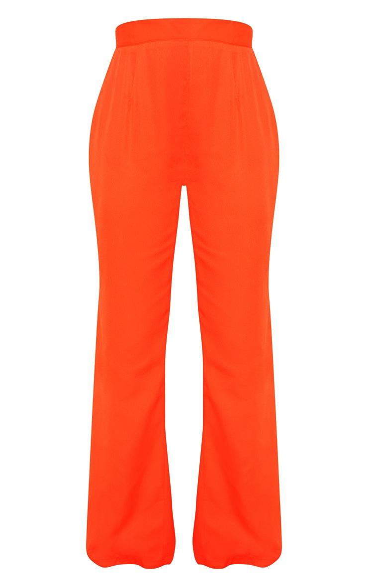 Petite Neon Orange  Beach Flares 3