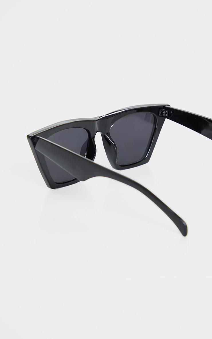 Black Triangle Sunglasses 3
