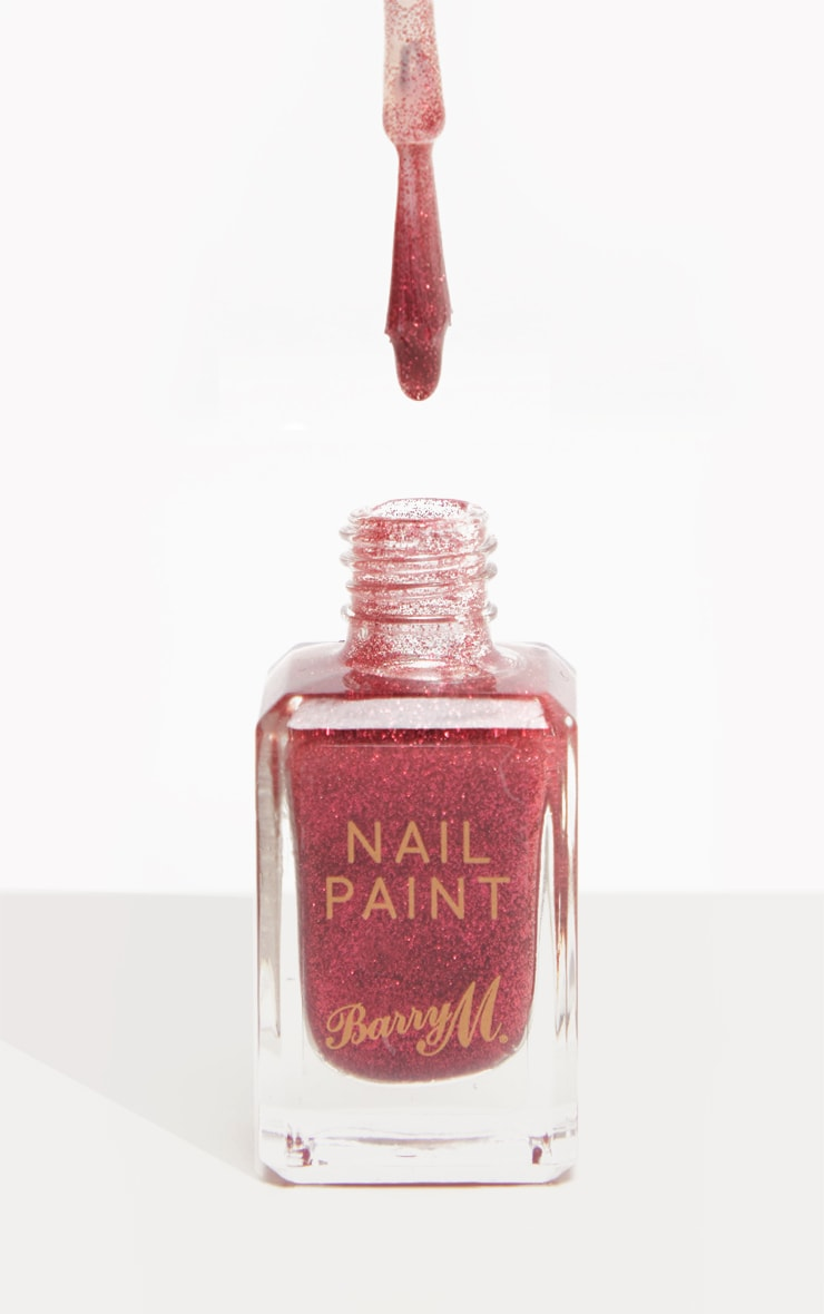 Barry M Classic Nail Paint Ruby Slippers 1