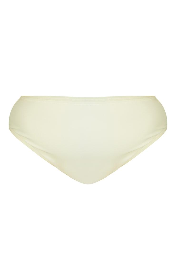 Recycled Plus White Mix & Match High Waist Bikini Bottoms 5