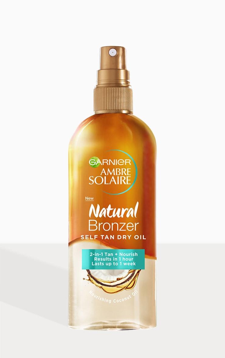 Garnier Ambre Solaire Natural Bronzer Self Tan Dry Oil Fake Tan 1