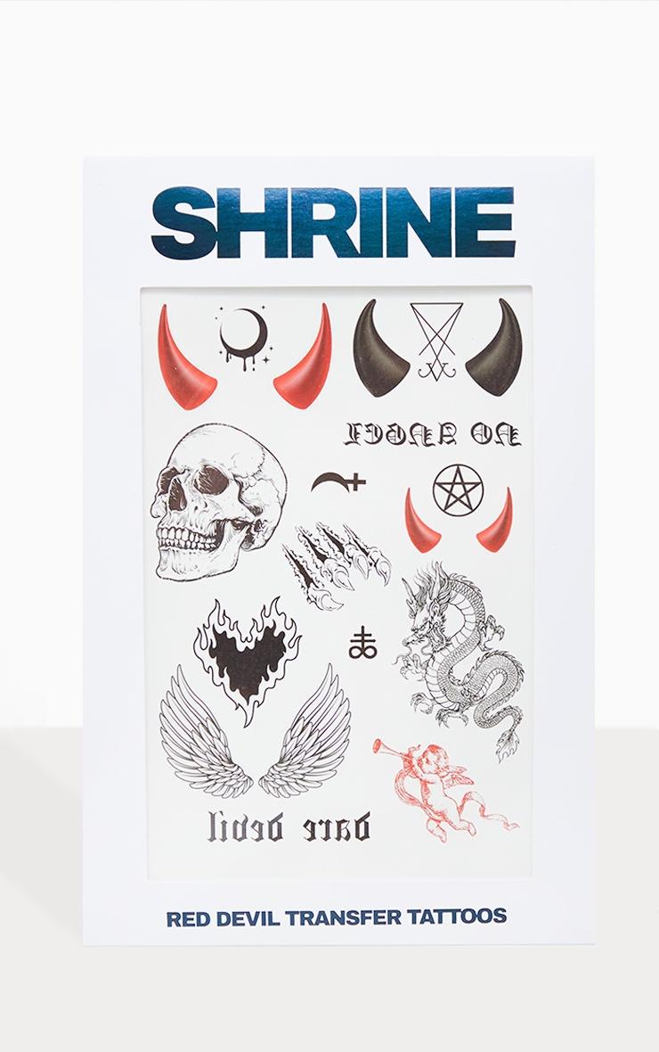 SHRINE - Tatouages temporaires diable 1