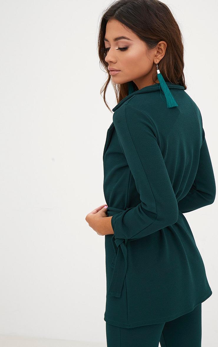Petite veste vert emeraude