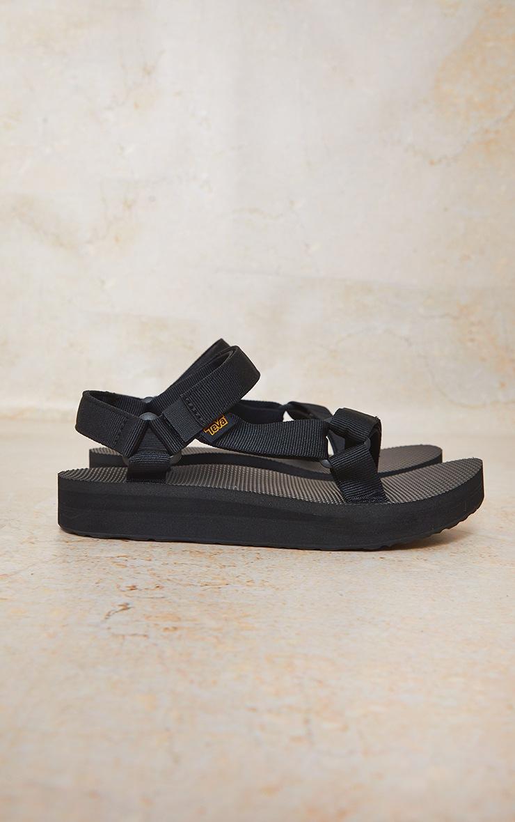 TEVA Black Midform Universal Sandals 3