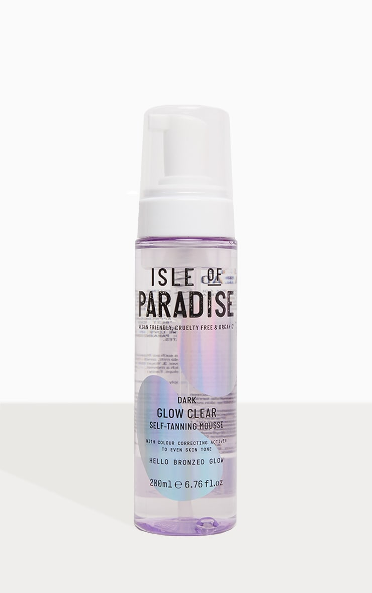 Isle Of Paradise Dark Glow Clear Self-Tanning Mousse 2