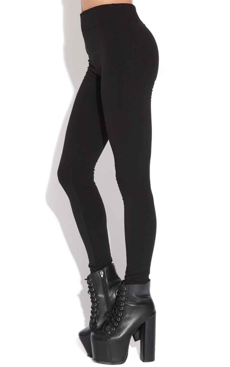 Becca Black Leggings 4