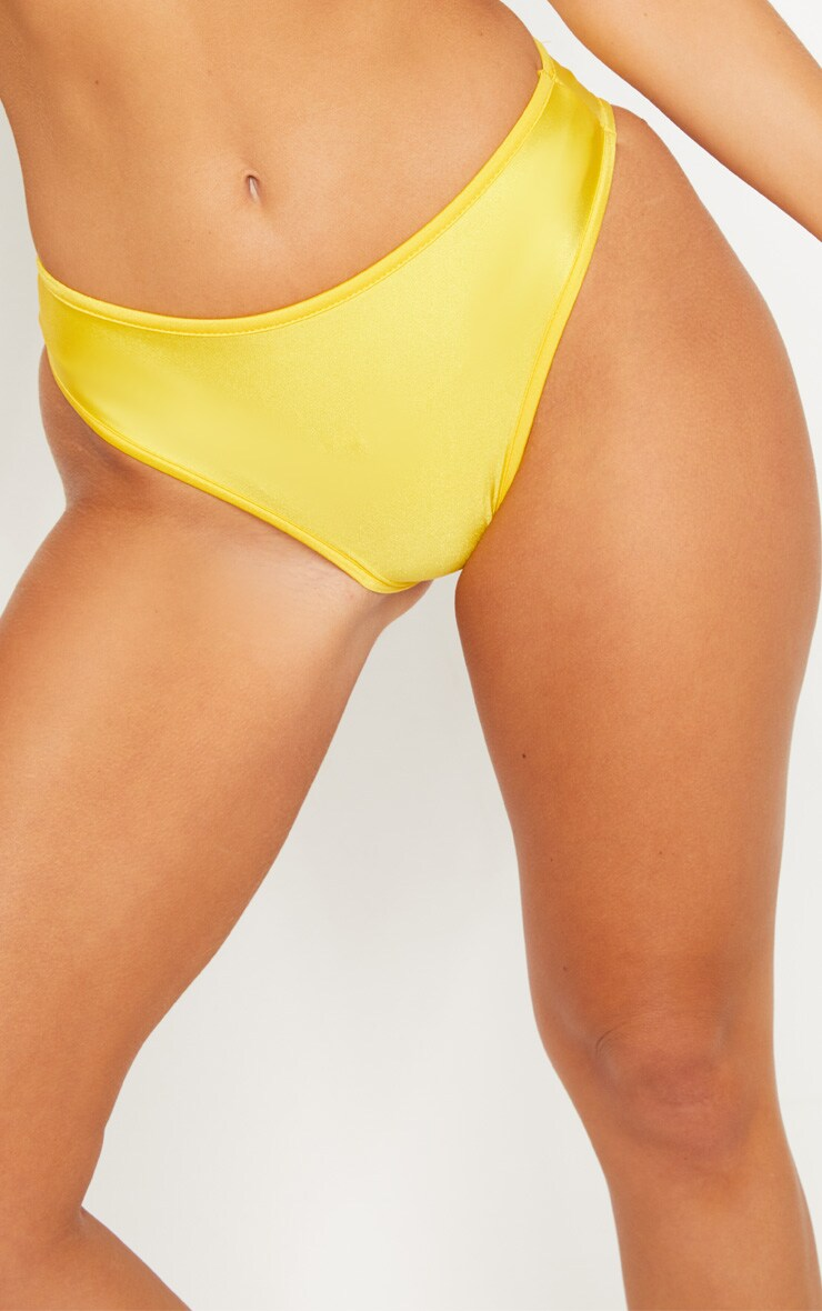 Yellow Mix & Match Cheeky Bum Bikini Bottom 6