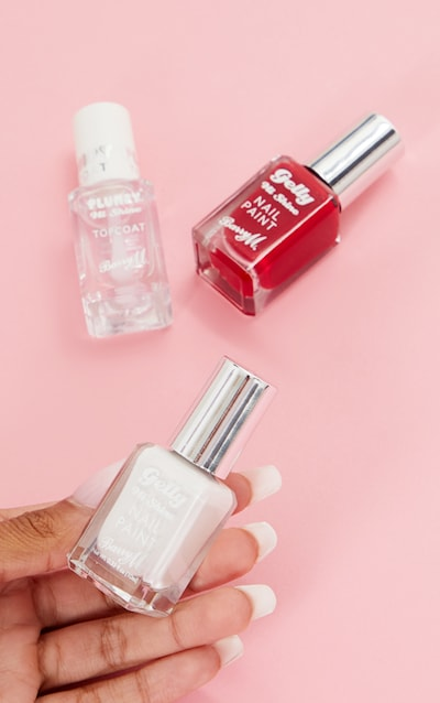 Barry M Gelly Nail Paint & Topcoat Bundle