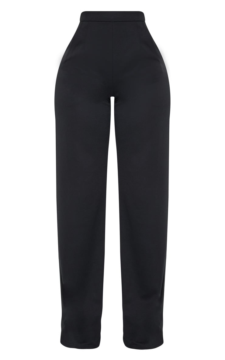 Shape Black Wide Leg Trousers 3