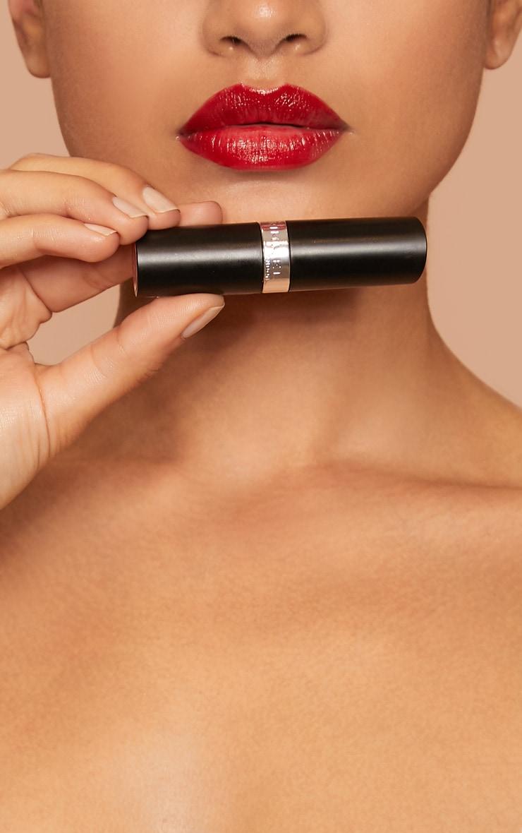 Rimmel Lasting Finish Lipstick Alarm 4