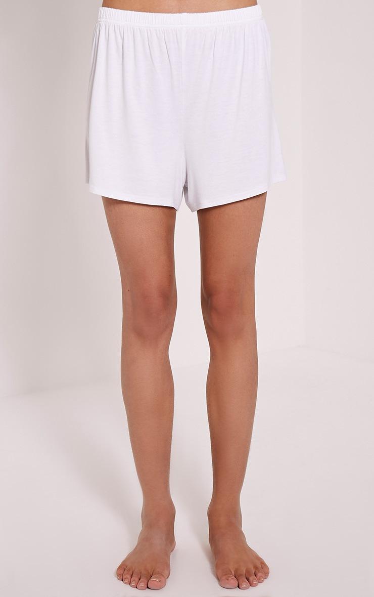 Love Blah Blah Blah Drink White Cami Pyjama Set 5
