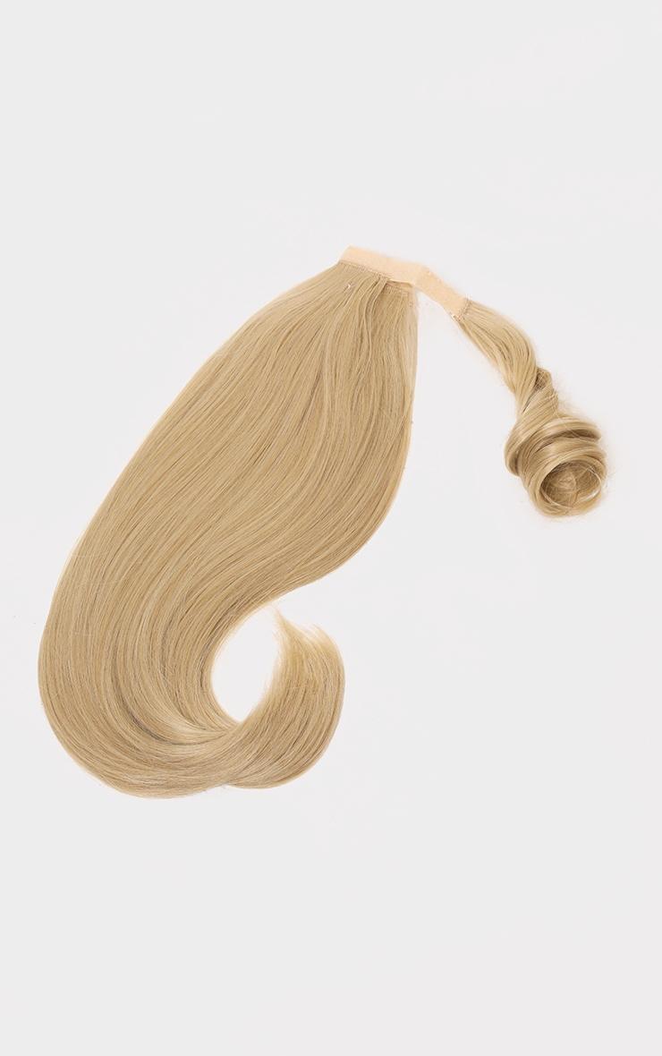LullaBellz Mini Grande 18 90s Bounce Wraparound Pony Light Golden Blonde 5