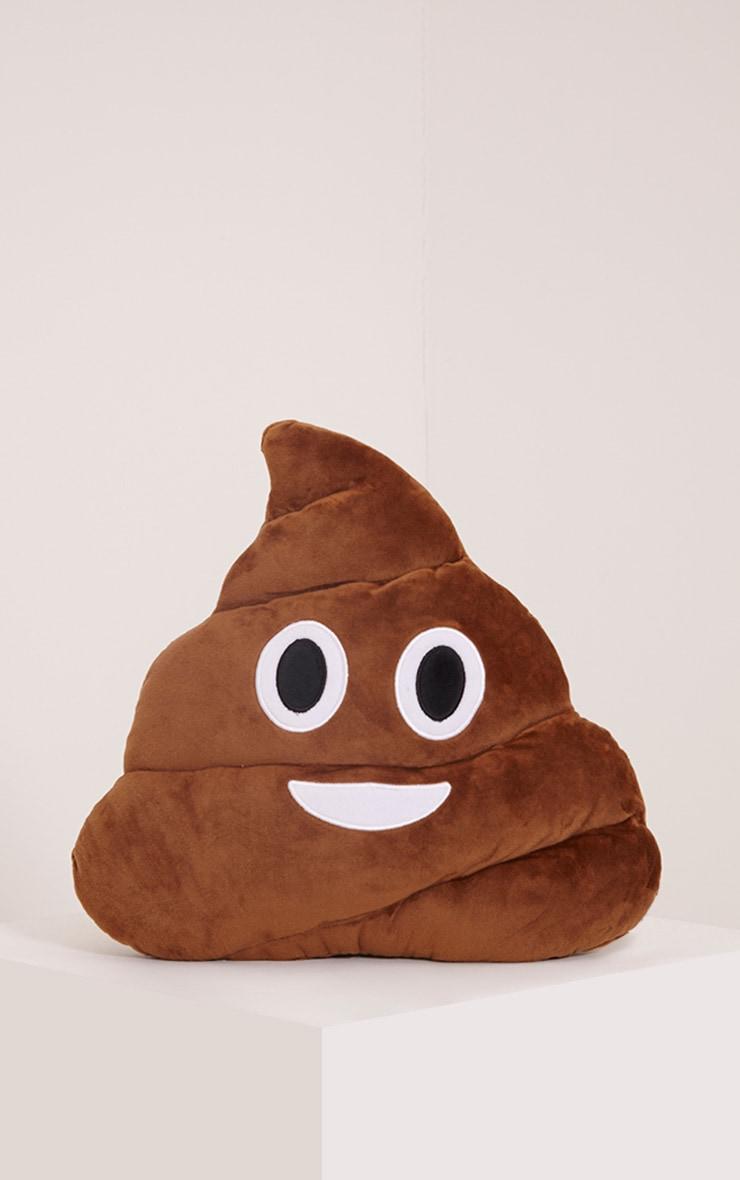 Poo Emoji Face Cushion 1