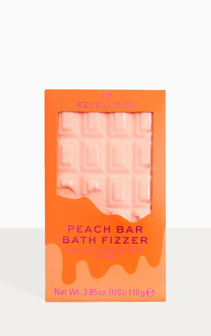 I Heart Revolution Chocolate Bar Bath Fizzer Peach 1