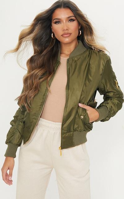 Brown Bomber jacket Zip up jacket Vintage bomber 80s bomber,Cropped jacket  Medium Womens Bomber CAMEL bomber jacket Oversize jacket