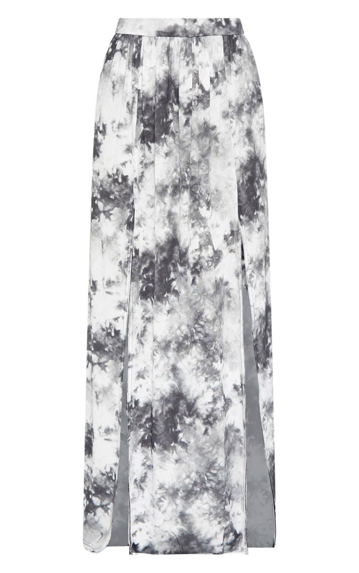 Grey Tie Dye Maxi Skirt 3