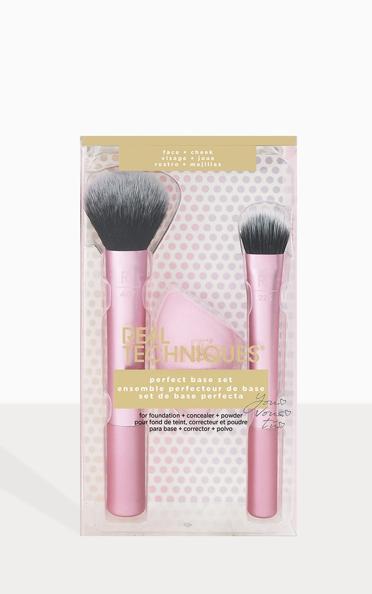 Real Techniques Perfect Base Brush Set 4