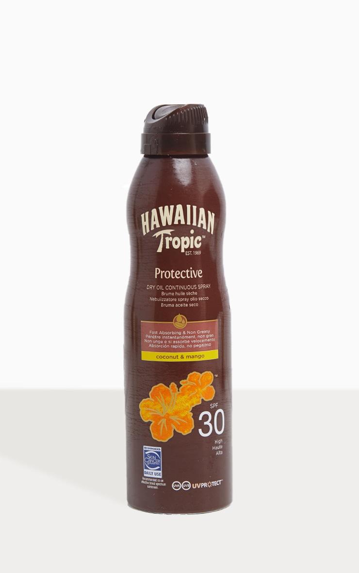 Hawaiian Tropic Protective Dry Oil Continuous Spray Oil SPF 30 3