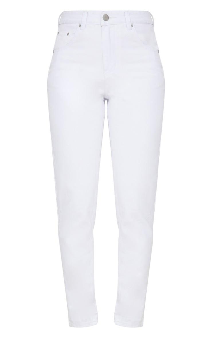 Mom White Jean 3