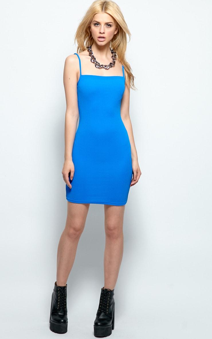 Kristin Premium Blue Strappy Dress 3