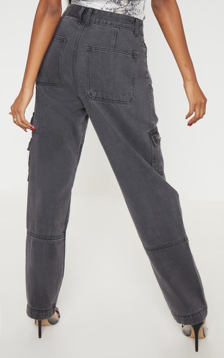 Black Combat Jeans 4