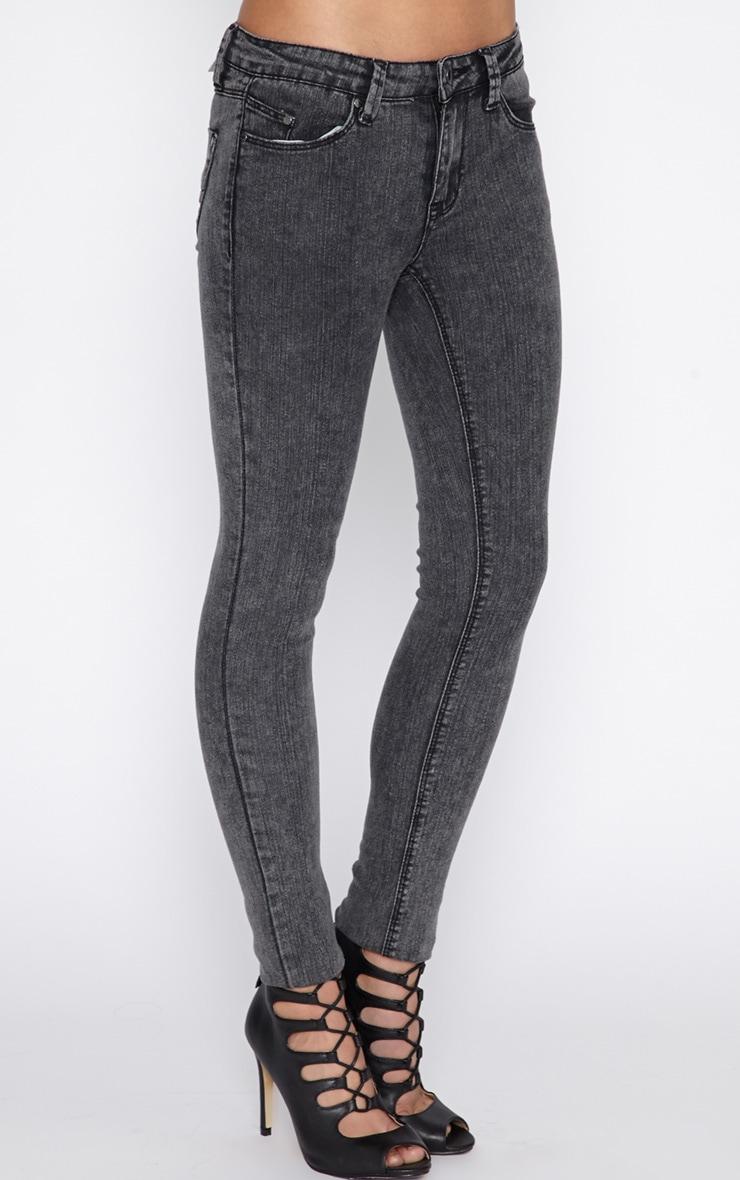Ivy Charcoal Skinny Jean  3