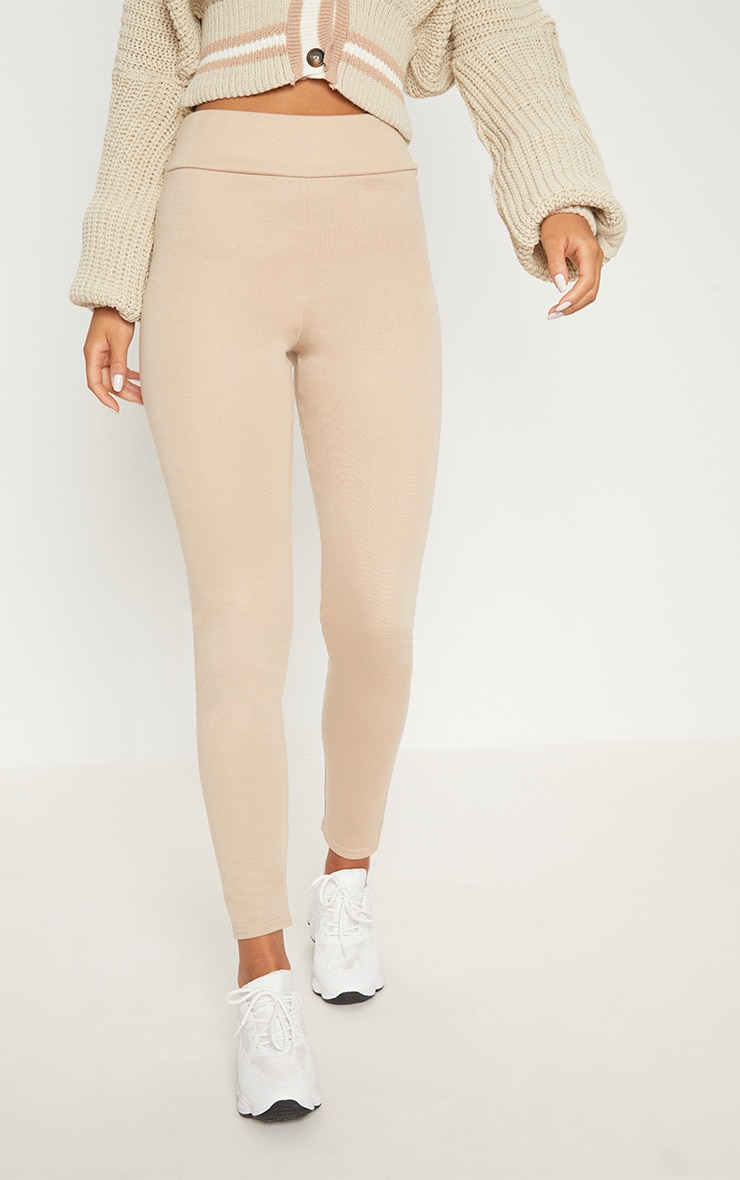 Stone Second Skin High Waisted Ponte Seamed Legging 4