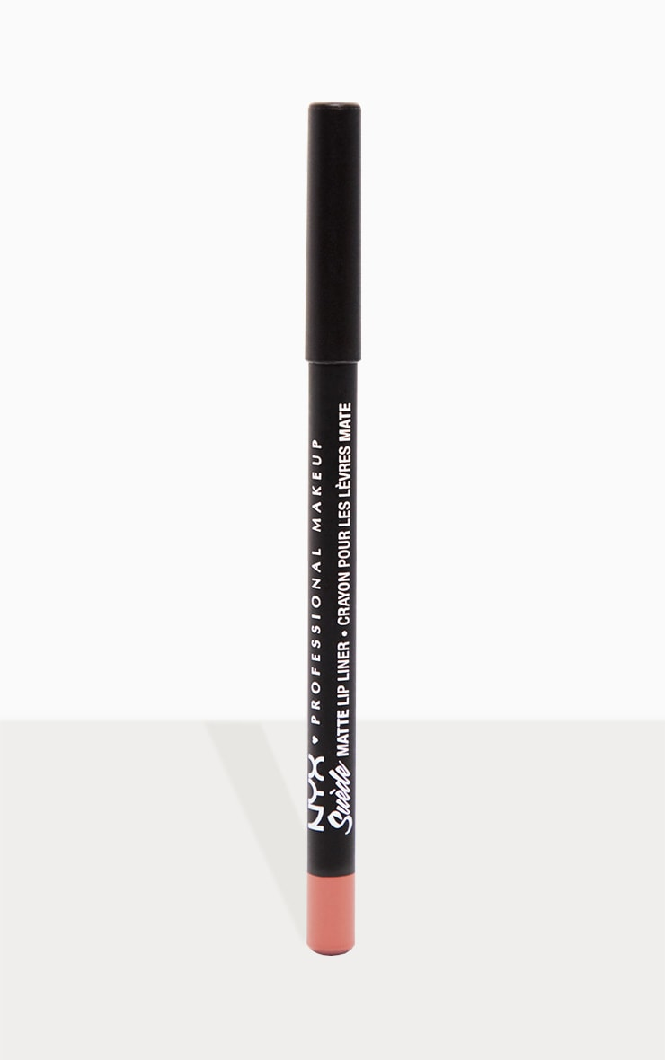 NYX Professional Makeup Suede Matte Lip Liner Brunch Me 1