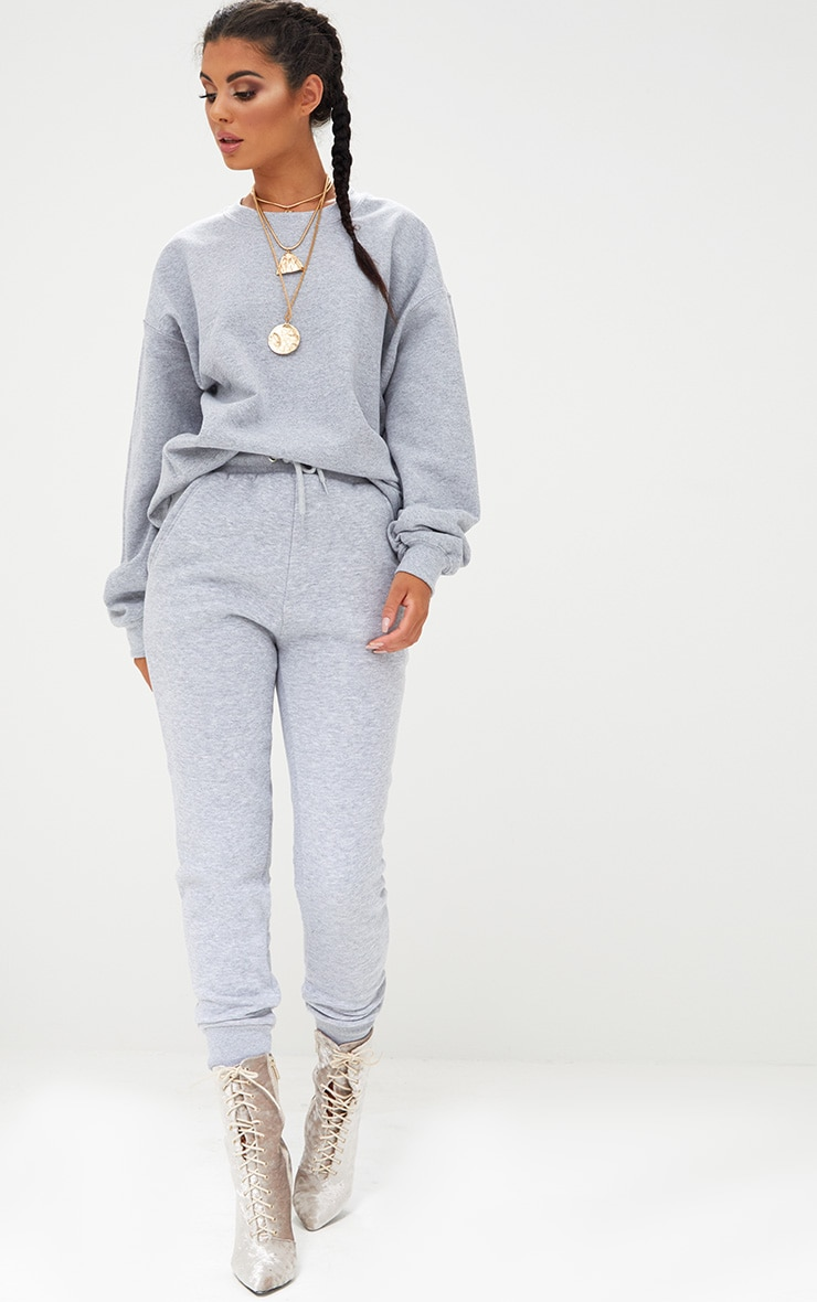 Grey Marl Ultimate Oversized Sweater 4