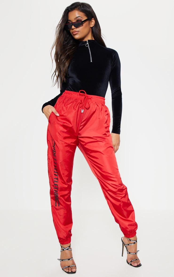 Black Velvet Zip High Neck Long Sleeve Bodysuit 5