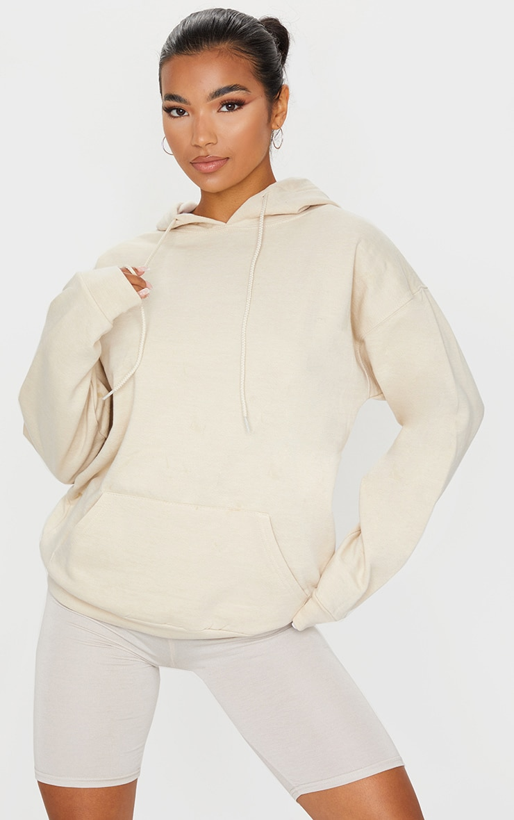 Sand Ultimate Oversized Hoodie 1