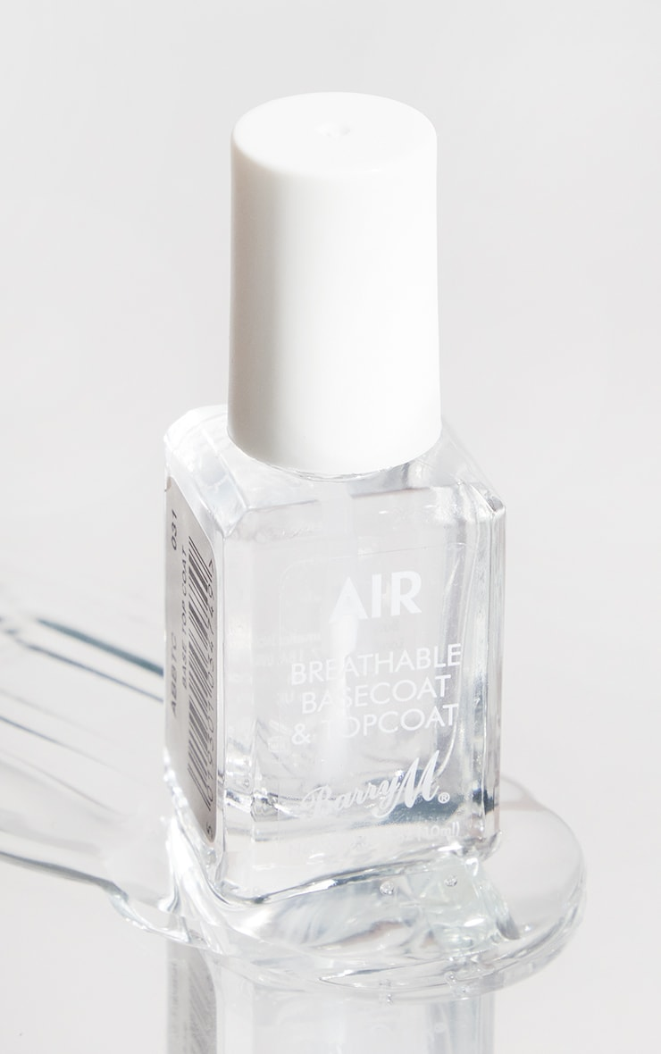 Barry M Cosmetics Air Breathable Nail Paint Top Coat 1