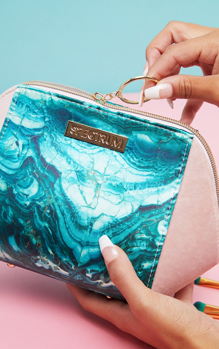 Spectrum Malachite Makeup Bag 2