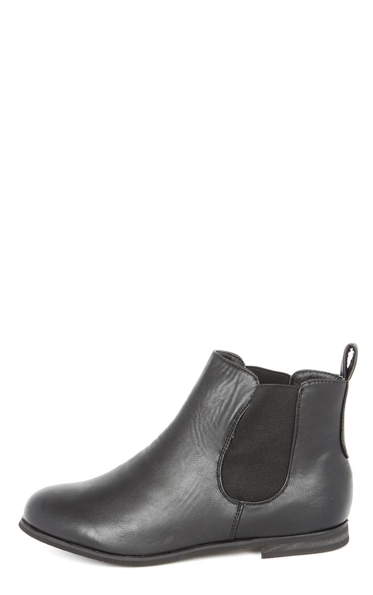 Samara Black Chelsea Boot 1