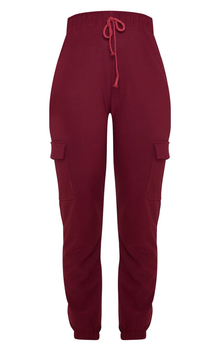 Wine Cargo Pocket Trouser 3