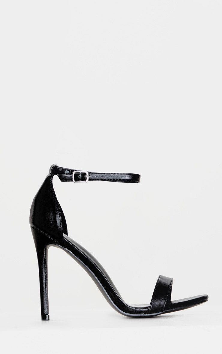 Black Clover Strappy Heeled Sandals 3