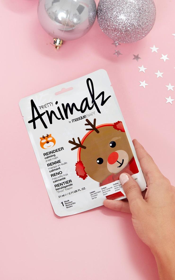 holiday-animalz-sheet-mask-reindeer by prettylittlething