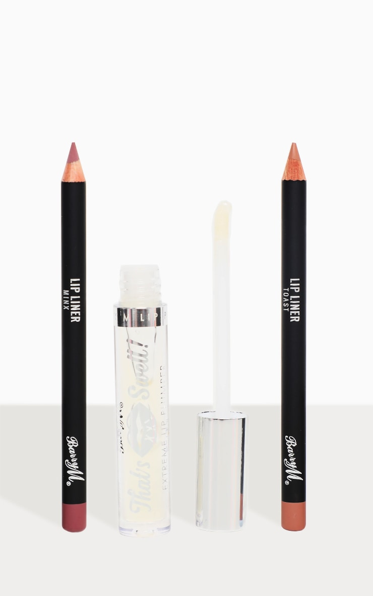 Barry M That's Swell XXL Plumping Lip Gloss & Lip Liner Bundle image 1