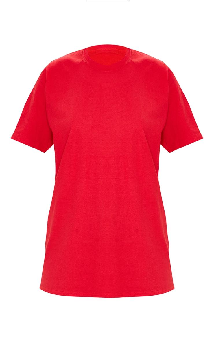 Red Chaos Dragon T Shirt 5