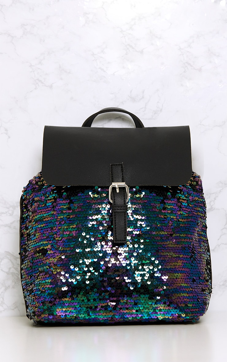 Bloom Multi Sequin Backpack  2