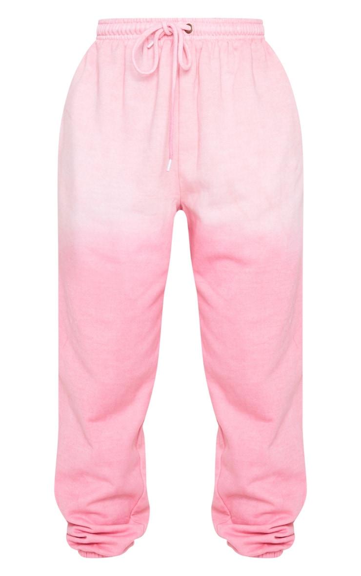 Pink Dip Dye Casual Jogger 5